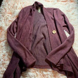 Pomelo Made In USA Plum Color Cardigan Kids Girls